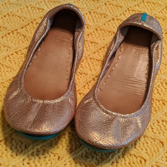 Tieks Shoes   Rose Gold Glam Tieks